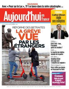Aujourd'hui en France - 9 Janvier 2020