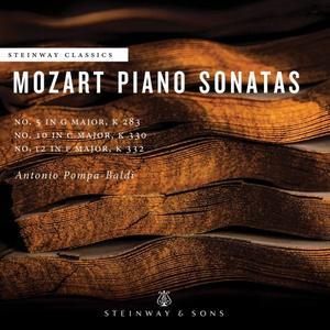 Antonio Pompa-Baldi - Mozart: Piano Sonatas Nos. 5, 10 & 12 (2018)