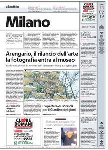la Repubblica Milano - 15 Febbraio 2019