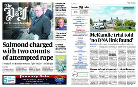 The Press and Journal Moray – January 25, 2019