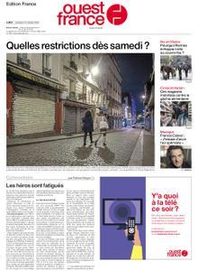 Ouest-France Édition France – 16 octobre 2020