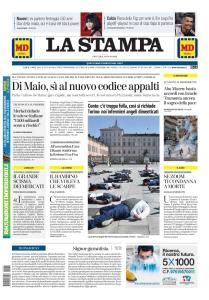 La Stampa Imperia e Sanremo - 21 Maggio 2020