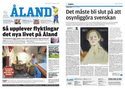 Ålandstidningen – 29 oktober 2018