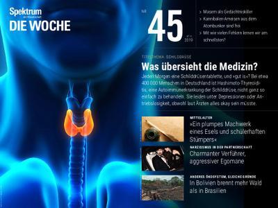 Spektrum Die Woche – 08. November 2019
