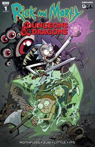 Attn Phil K =) - File 1 of 1 - yEnc Rick and Morty vs Dungeons & Dragons 001 (2018) (digital) (d27argh-Empire