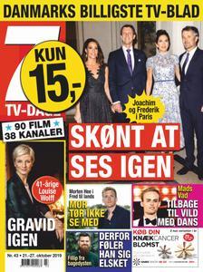 7 TV-Dage – 21. oktober 2019