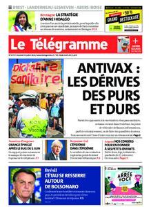 Le Télégramme Brest Abers Iroise – 23 juillet 2021