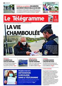 Le Télégramme Brest – 18 mars 2020