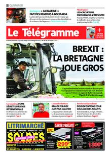 Le Télégramme Quimper – 31 janvier 2020