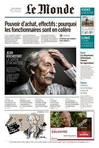 Le Monde du Mercredi 11 Octobre 2017