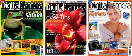 Digital Camera World. 12 issues of 2004.