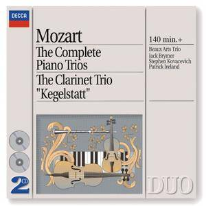 Beaux Arts Trio - Mozart: The Complete Piano Trios (1995)