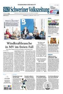 Schweriner Volkszeitung Hagenower Kreisblatt - 14. Mai 2019
