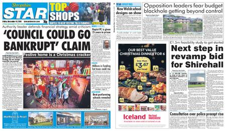 Shropshire Star Shrewsbury Edition – December 14, 2018