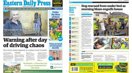 Eastern Daily Press – October 22, 2019