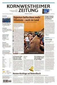 Kornwestheimer Zeitung - 25. Juli 2018