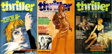 Thriller #2-4