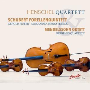 Henschel Quartett & Diogenes Quartett - Schubert: Forellenquintett & Mendelssohn: Oktett (2019)