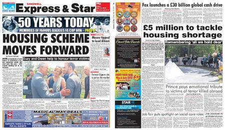 Express and Star Sandwell Edition – May 18, 2018