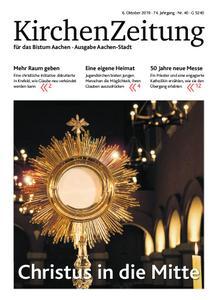 KirchenZeitung für das Bistum Aachen – 06. Oktober 2019