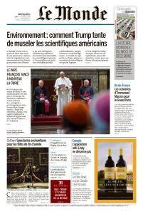 Le Monde du Dimanche 24 et Mardi 26 Décembre 2017