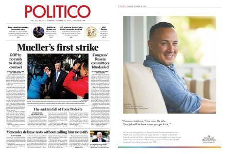 Politico – October 31, 2017