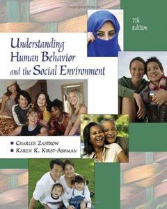 Understanding Human Behavior and the Social Environment
