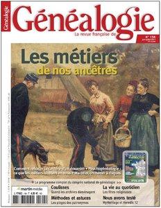 La Revue Française de Généalogie N°194 Juin/Juillet 2011