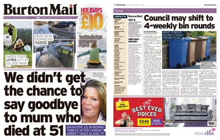 Burton Mail – January 13, 2020