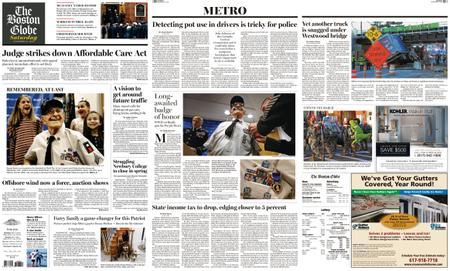 The Boston Globe – December 15, 2018