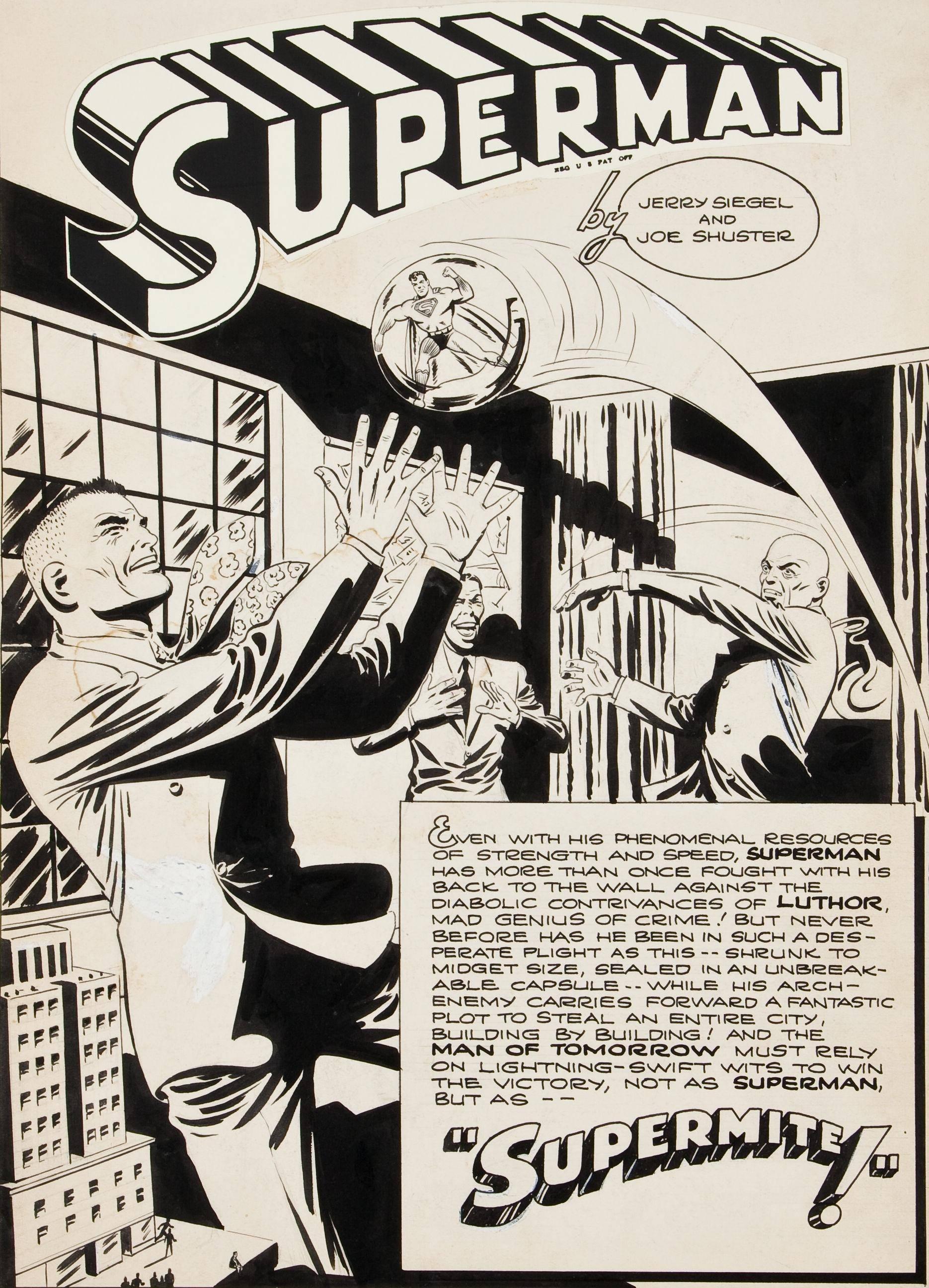 Superman 1939-1986 Miscellanea [13 of 26] [1944] Superman in Supermite unpublished Golden Age story cbz
