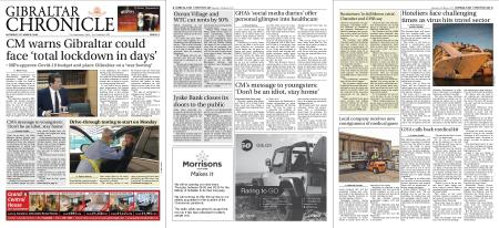 Gibraltar Chronicle – 21 March 2020