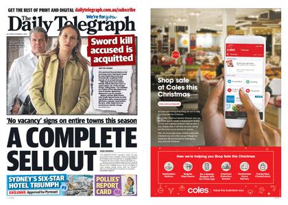 The Daily Telegraph (Sydney) – December 11, 2020