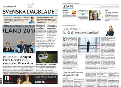 Svenska Dagbladet – 17 december 2018