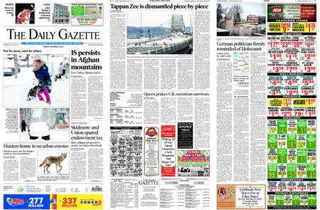 The Daily Gazette – December 26, 2017