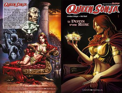 Queen Sonja - Tome 1 - Le Destin d'une Reine