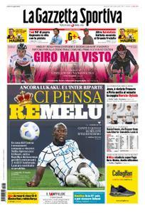 La Gazzetta dello Sport Roma – 25 ottobre 2020
