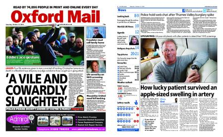Oxford Mail – October 13, 2018