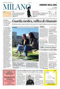 Corriere della Sera Milano - 15 Novembre 2017