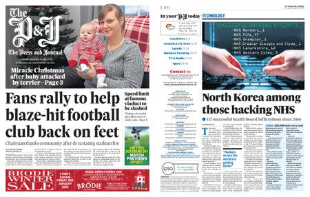 The Press and Journal Moray – December 26, 2019