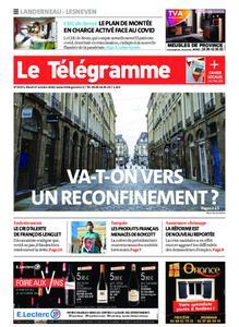 Le Télégramme Landerneau - Lesneven – 27 octobre 2020