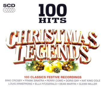 VA - 100 Hits: Christmas Legends (2010) [5CD Box Set]