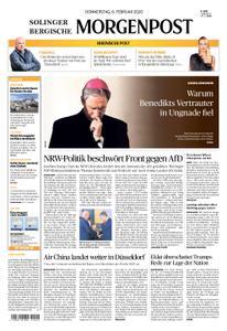 Solinger Morgenpost – 06. Februar 2020