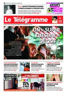 Le Télégramme Brest Abers Iroise – 02 mars 2020
