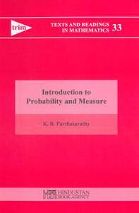 Introduction to Probability and Measure