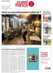 Ouest-France Édition France – 28 octobre 2020