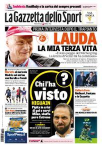 La Gazzetta dello Sport Roma – 20 dicembre 2018