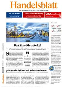 Handelsblatt - 29. August 2019