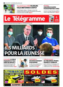 Le Télégramme Ouest Cornouaille – 24 juillet 2020