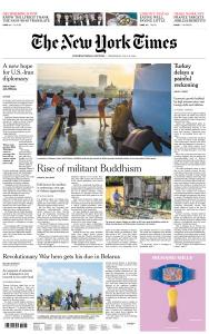 International New York Times - 10 July 2019